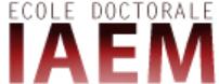 Ecole Doctorale IAEM Lorraine